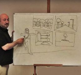 Πέθανε ο Πόντιος αγωνιστής και σκιτσογράφος Δημήτρης Νικολαΐδης