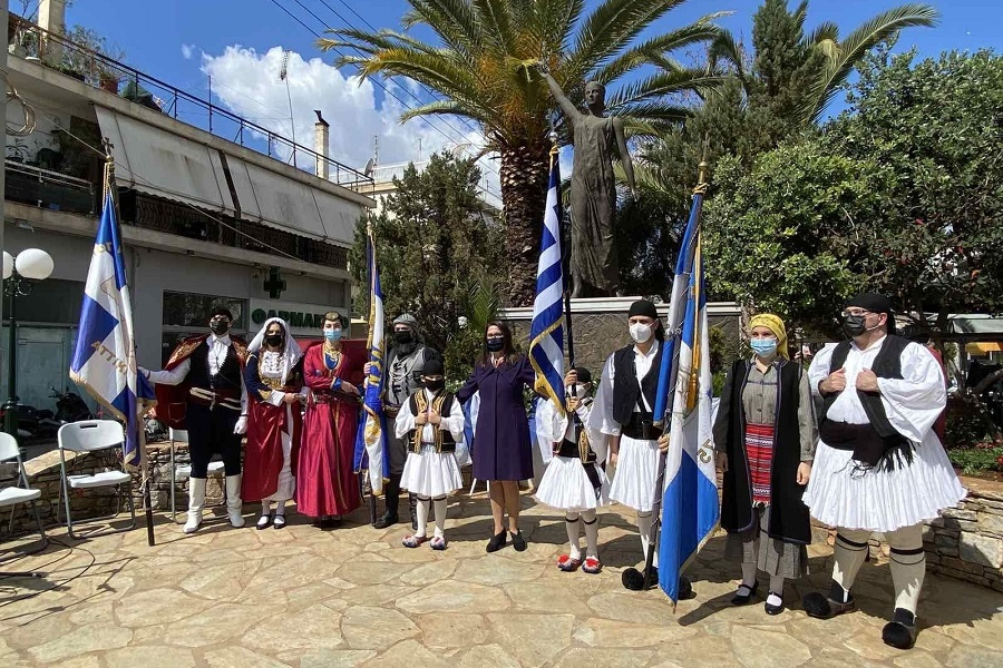 Η «Μαύρη Θάλασσα» Ν. Σμύρνης τίμησε τους ήρωες της 25ης Μαρτίου