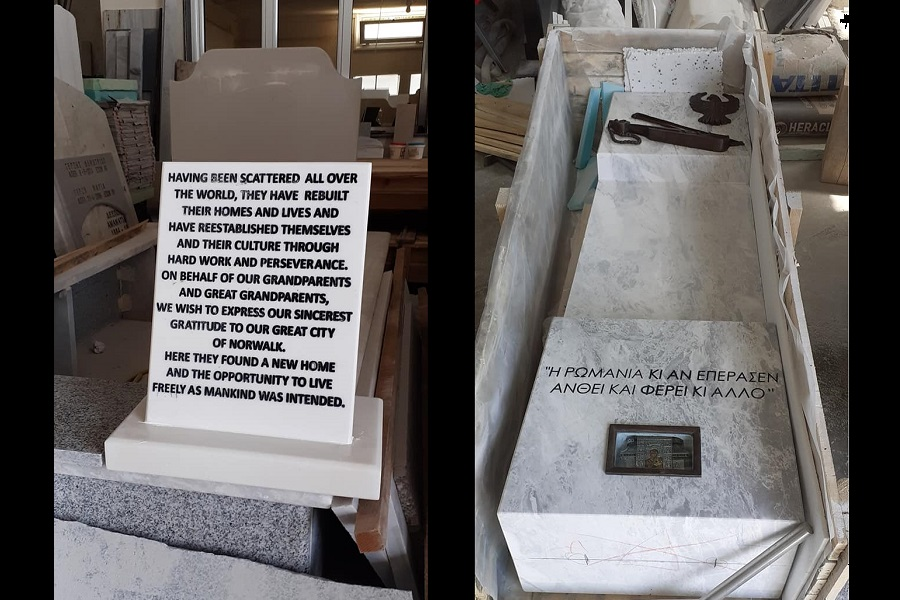 Σε ένα μήνα θα ανεγερθεί το πρώτο μνημείο για την Γενοκτονία των Ποντίων σε δημόσιο χώρο στην Αμερική (φώτο)