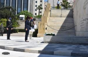23 Μαΐου 2021: Πρώτη φορά Πρόεδρος της Δημοκρατίας καταθέτει στεφάνι για την Γενοκτονία των Ελλήνων του Πόντου (Φωτο, βίντεο)