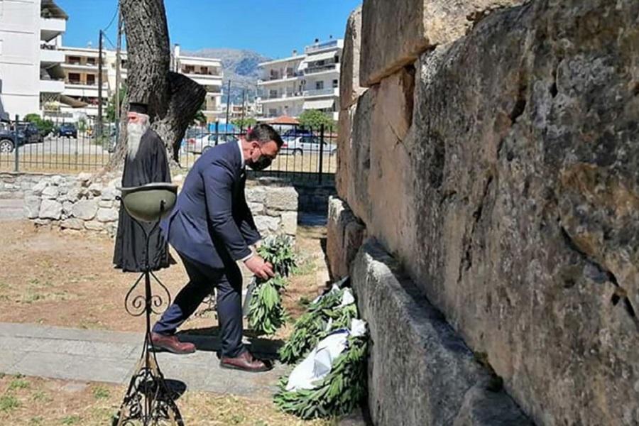 Η Λακωνία τίμησε τη μνήμη των θυμάτων της Γενοκτονίας των Ελλήνων του Πόντου