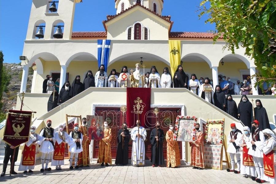 Η Ένωση Ποντίων Νίκαιας-Κορυδαλλού τίμησε τους 318 Θεοφόρους Πατέρες