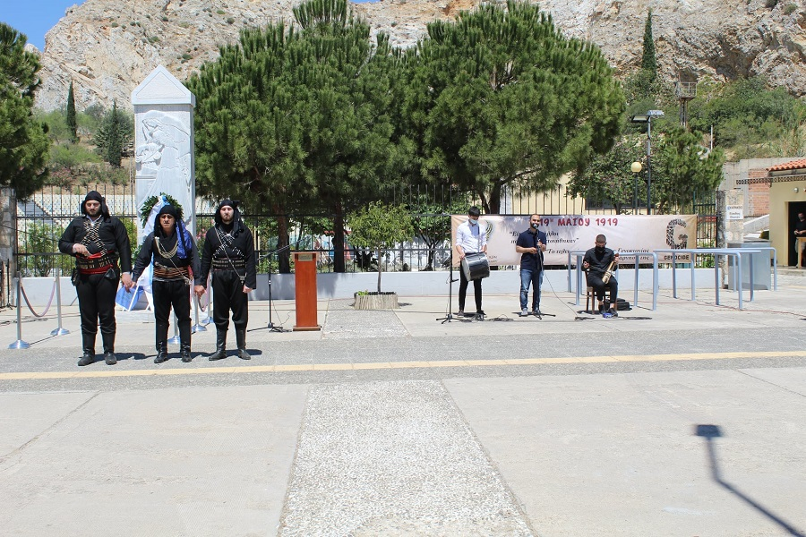 Η Ένωση Ποντίων Νίκαιας-Κορυδαλλού τίμησε τα θύματα της Γενοκτονίας (βίντεο, φωτο)