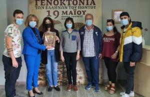 Αιμοδοσία για τα θύματα της Γενοκτονίας πραγματοποίησε ο «Διογένης» Νέας Σινώπης