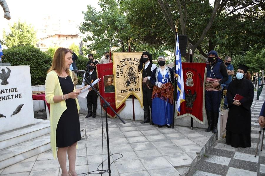 Ο Δήμος Παύλου Μελά τίμησε τα 102 χρόνια από την Ποντιακή Γενοκτονία (φωτο, βίντεο)