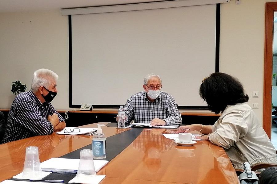 Συνάντηση του Δημάρχου Αμαρουσίου με τον «Καπετανίδη» Αμαρουσίου