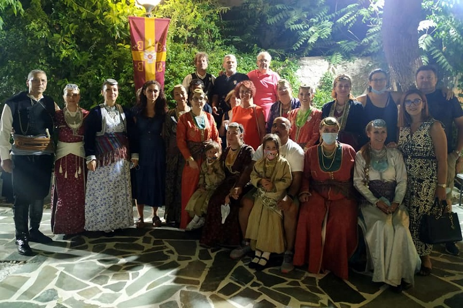 Ο «Εύξεινος Πόντος» Μεταμόρφωσης τίμησε την Αγία Άννα και την Αγία Παρασκευή (φωτο)