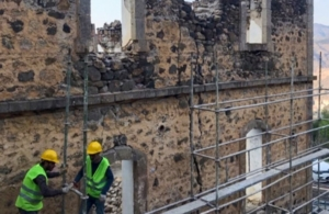 Ξεκίνησαν οι εργασίες αναστήλωσης και αποκατάστασης του Φροντιστηρίου Αργυρουπόλεως στον Πόντο
