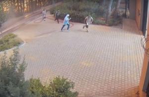 Tatoi Club: Βίντεο ντοκουμέντο από τη φωτιά στη Βαρυμπόμπη