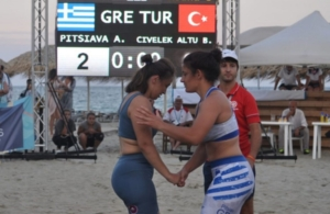 Πάλη στην άμμο: Πρωταθλήτρια Ευρώπης η Ελλάδα!